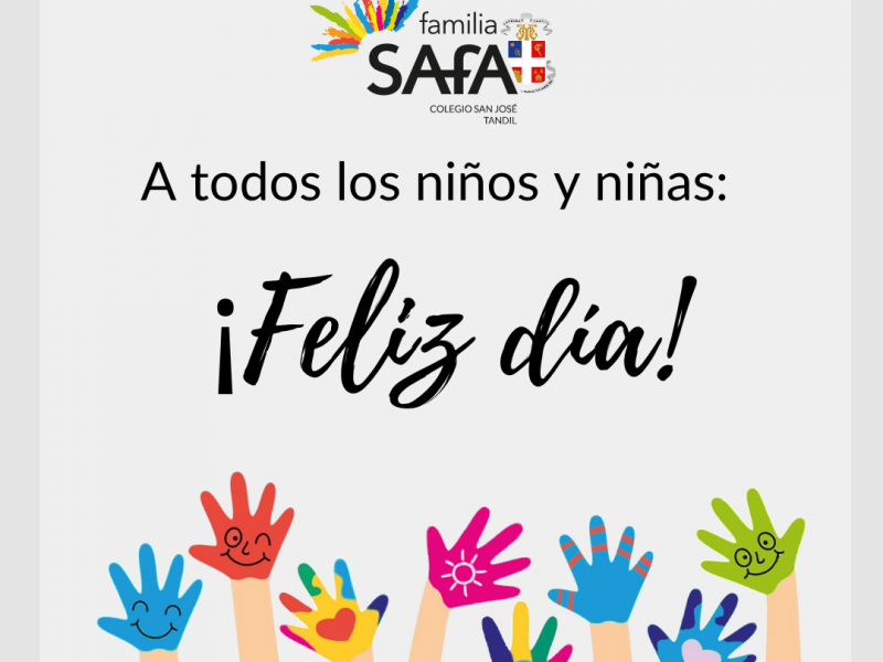 ¡FELIZ DÍA! - Colegio San José Tandil