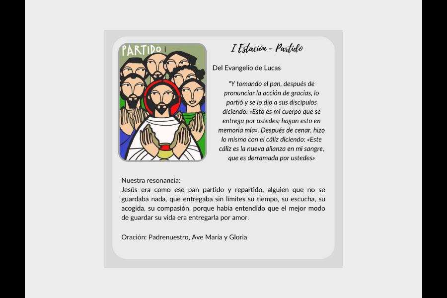 Vía Crucis (primera parte) - Colegio San José Tandil