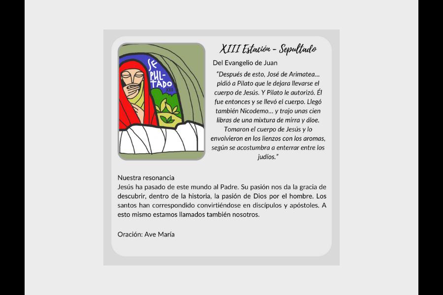 Vía Crucis (segunda parte) - Colegio San José Tandil