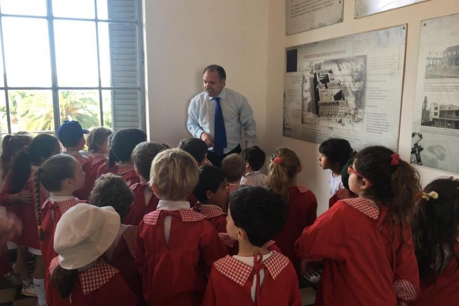 Visita de sala de 4 al Museo - Colegio San José Tandil