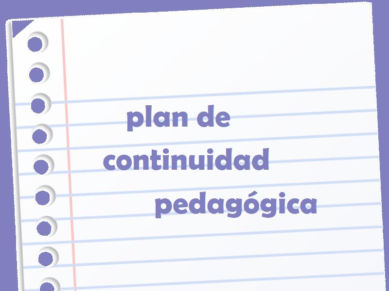 Plan de Continuidad Pedagógica - Colegio San José Tandil