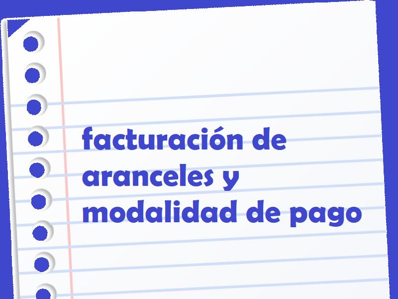Aranceles y modalidad de pago - Colegio San José Tandil