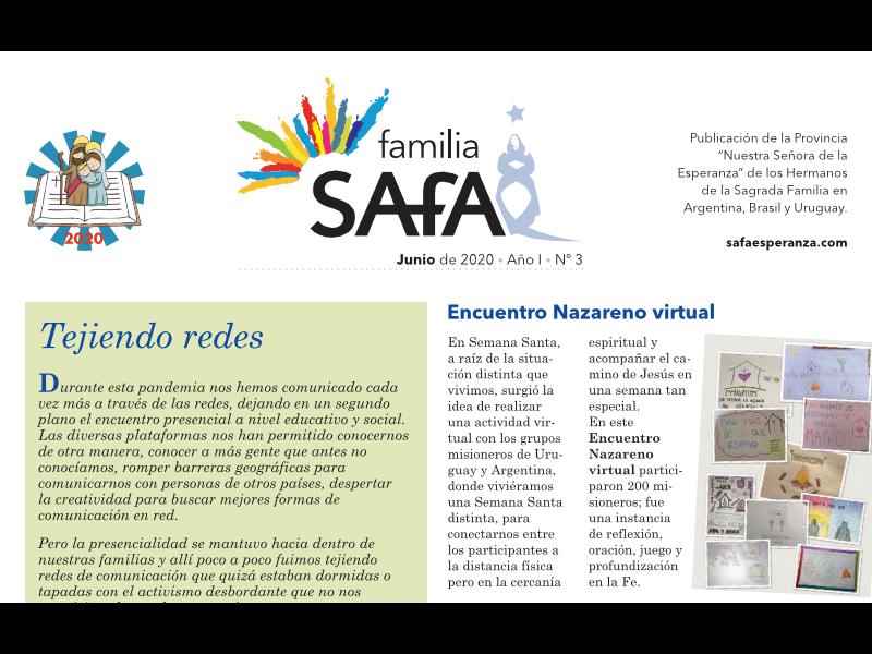 Boletín Familia-Safa Jun-2020 - Colegio San José Tandil