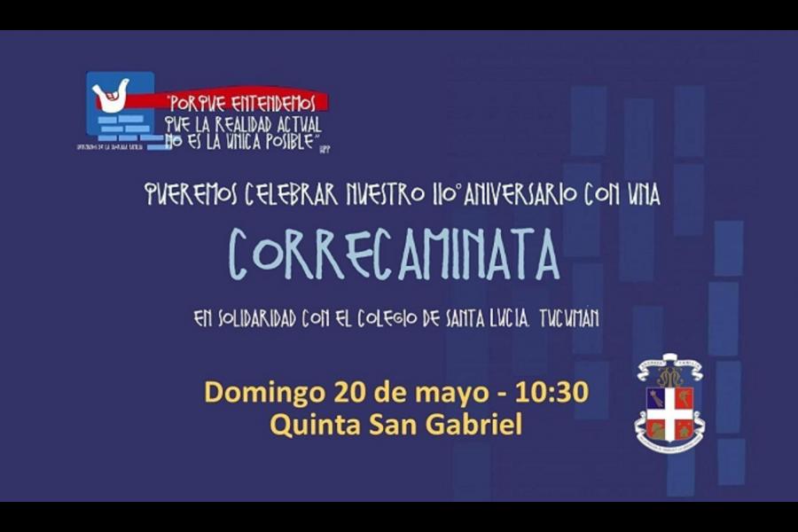 Corre-caminata Solidaria - Colegio San José Tandil