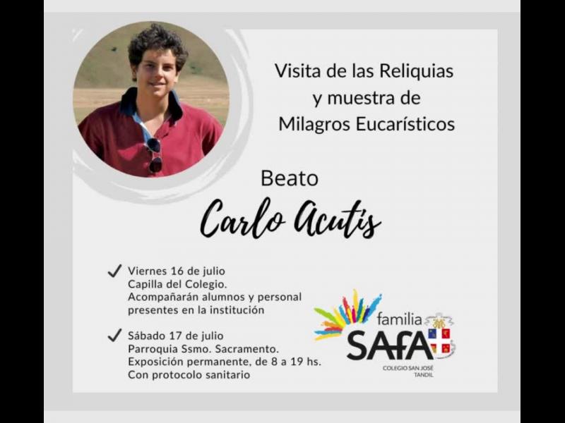 Beato Carlo Acutis - Colegio San José Tandil