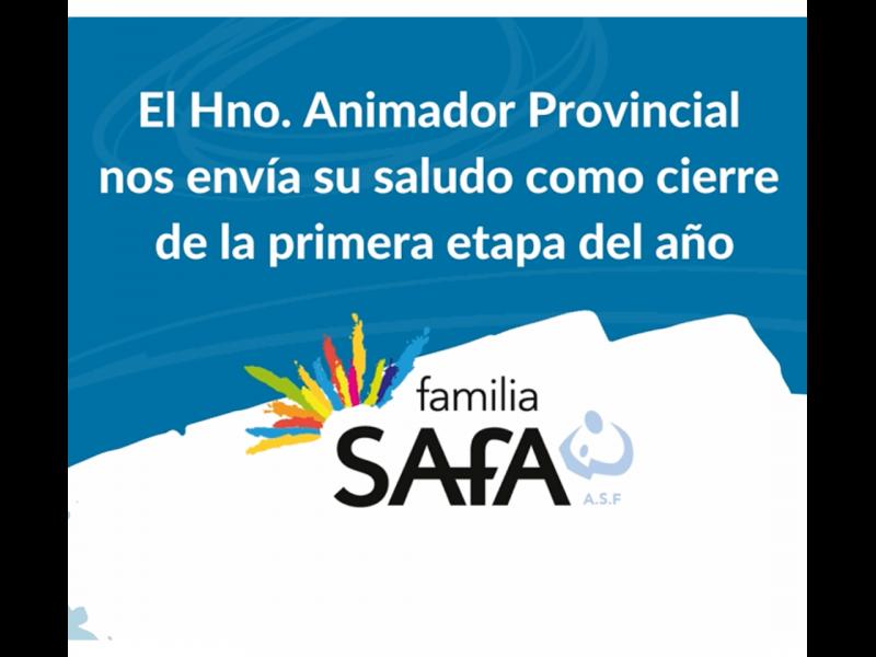 Saludo del Hermano Animador Provincial Edgardo Bruzzoni - Colegio San José Tandil