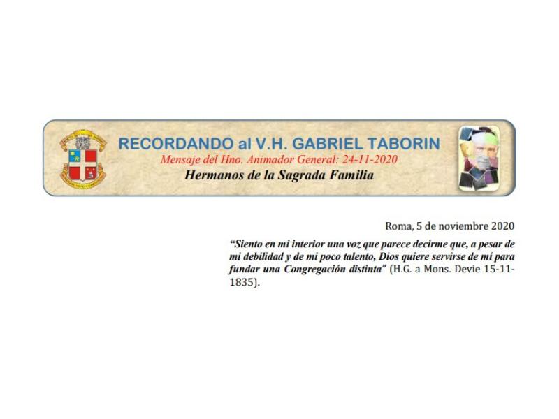 Mensaje del Hermano Animador General en el mes del Fundador - Colegio San José Tandil