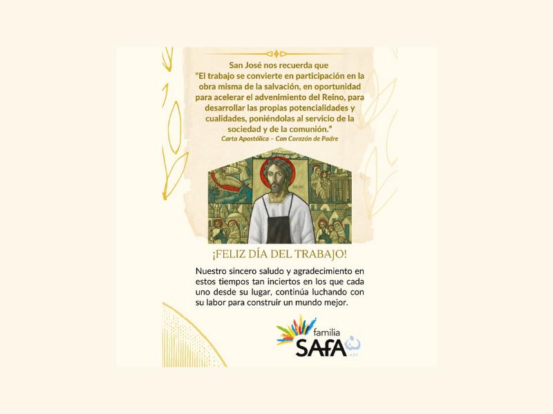 1 de mayo : Día del Trabajo - Colegio San José Tandil