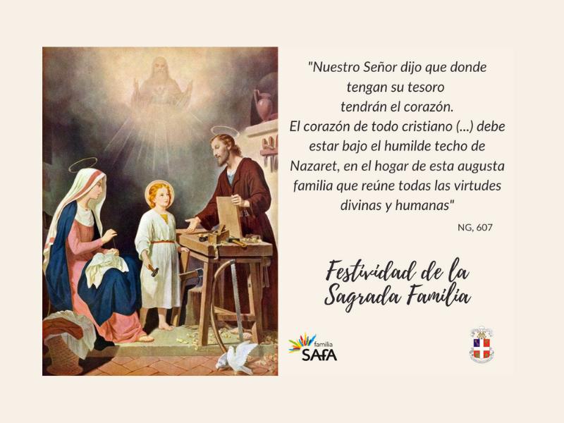 Festividad de la Sagrada Familia - Colegio San José Tandil