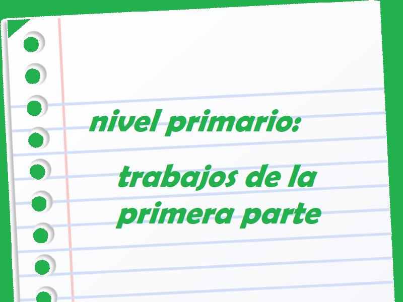 Nivel primario: actividades - Colegio San José Tandil
