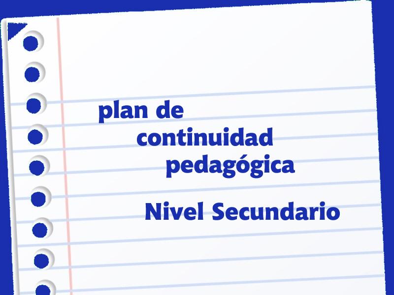 Comunicado Nivel Secundario - Colegio San José Tandil