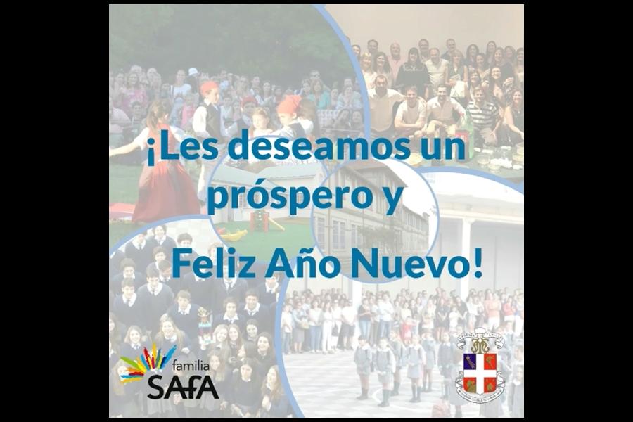 ¡Feliz 2021! - Colegio San José Tandil