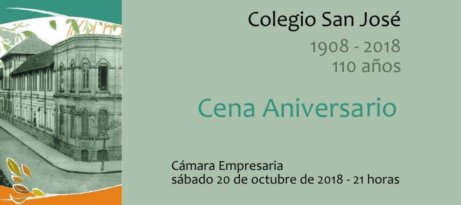 Cena 110 años - Colegio San José Tandil
