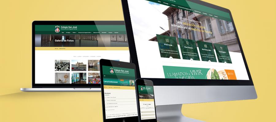 Nuevo sitio web - Colegio San José Tandil