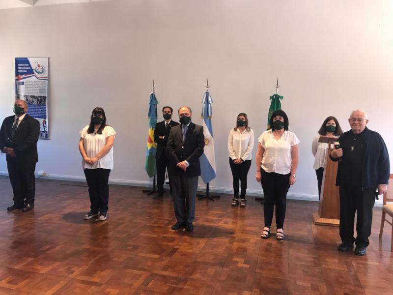 Acto de cierre del ciclo lectivo 2020 - Colegio San José Tandil